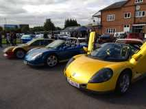 Spiders at Brooklands