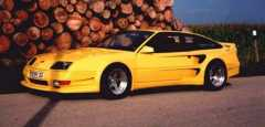 Yellow custom GTA Side SF